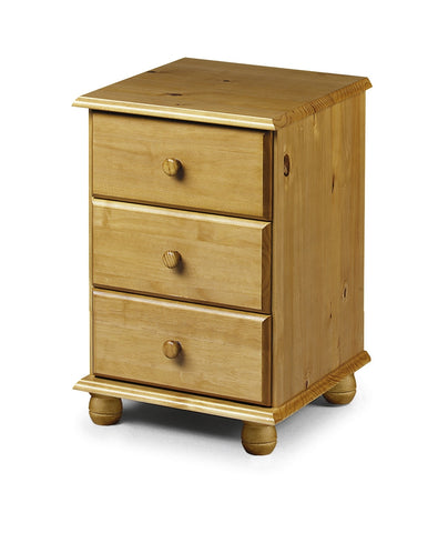 Pickwick 3 Drawer Bedside - Property Letting Furniture