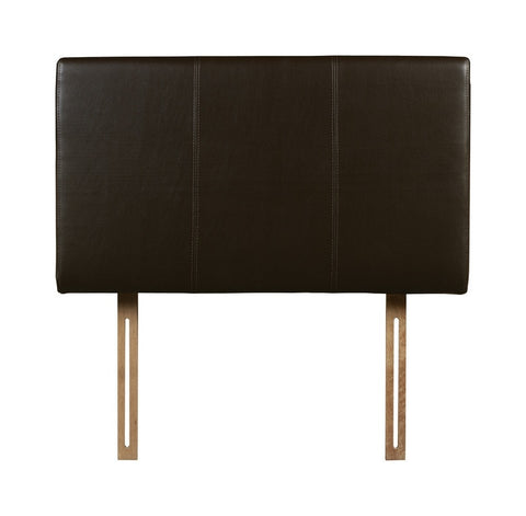 Double Faux Leather Headboard - Property Letting Furniture