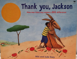 LOCAL KIDS' BOOKS: Thank You Jackson