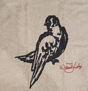WILLIAM KENTRIDGE LINEN PLACE MAT / HAND TOWEL