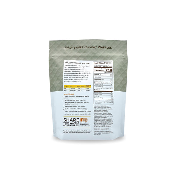 Chocolate Pancake & Waffle Mix | 3 PACK - $8.50 EACH | FREE SHIPPING