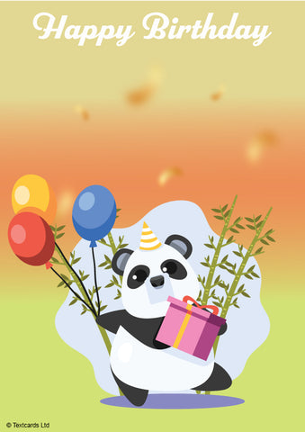 Happy Birthday Panda
