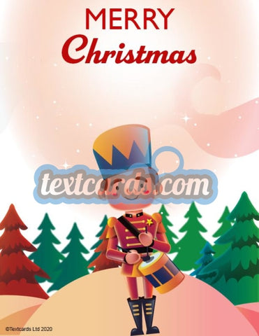 Christmas Toy Soldier Textcard