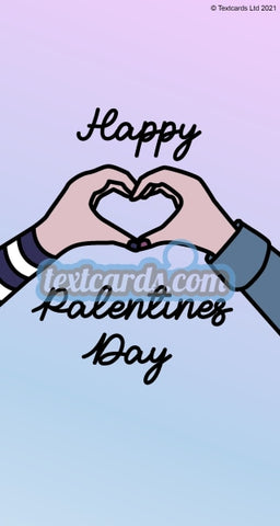 Happy Palentines Day Textcard