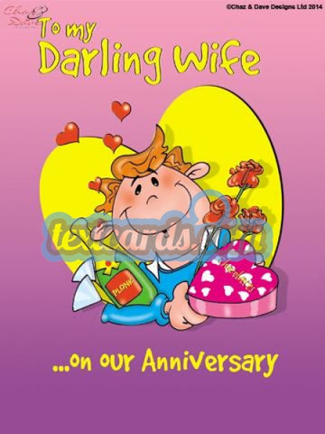 Wife Anniversary Textcard