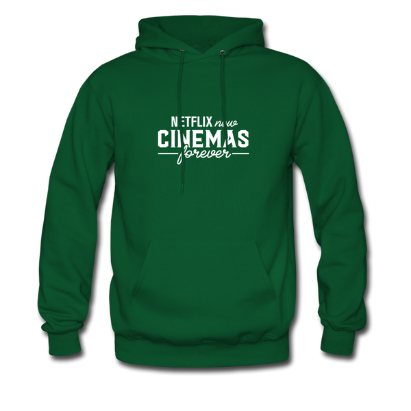Cinemas Forever Hoodie (Men) - forest green
