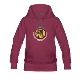 Will Rogers PAF Support Hoodie (Women) - burgundy