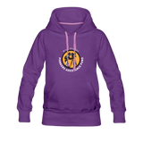 Will Rogers PAF Support Hoodie (Women) - purple