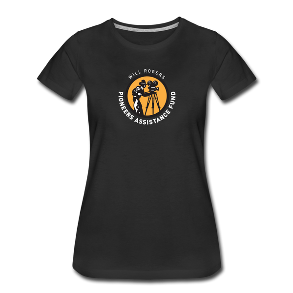 Will Rogers PAF Support Tee (Women) - black