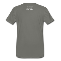 Big Screen Tee (Men) - asphalt gray
