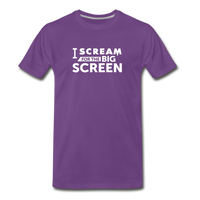 Big Screen Tee (Men) - purple