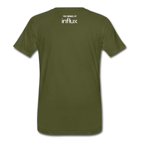 Big Screen Tee (Men) - olive green