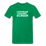 Big Screen Tee (Men) - kelly green