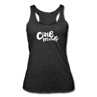 Cinemwah Racerback Tank (Women) - heather black