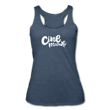 Cinemwah Racerback Tank (Women) - heather navy