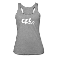 Cinemwah Racerback Tank (Women) - heather gray