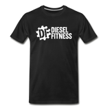 DF NO GAS Men's Premium T-Shirt - black