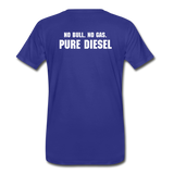 DF NO GAS Men's Premium T-Shirt - royal blue