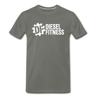 DF NO GAS Men's Premium T-Shirt - asphalt gray