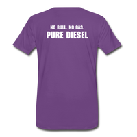 DF NO GAS Men's Premium T-Shirt - purple