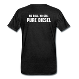 DF NO GAS Men's Premium T-Shirt - charcoal gray