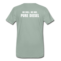 DF NO GAS Men's Premium T-Shirt - steel green
