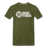 DF NO GAS Men's Premium T-Shirt - olive green
