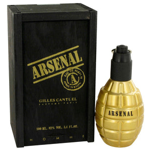 Arsenal Gold Eau De Parfum Spray By Gilles Cantuel For Men