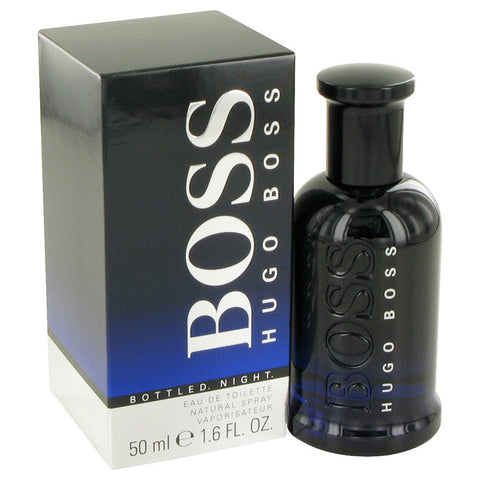 Boss Bottled Night Eau De Toilette Spray By Hugo Boss For Men