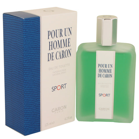 Image of Caron Pour Homme Sport Eau De Toilette Spray By Caron For Men