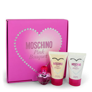 Moschino Pink Bouquet Gift Set By Moschino For Women