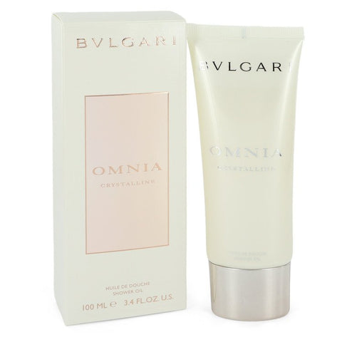 Omnia Crystalline Shower Oil By Bvlgari For Women