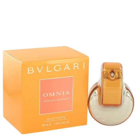Omnia Indian Garnet Eau De Toilette Spray By Bvlgari For Women
