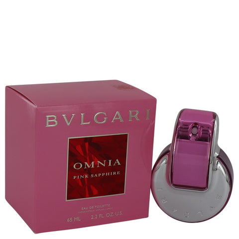 Omnia Pink Sapphire Eau De Toilette Spray By Bvlgari For Women