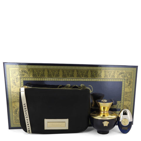 Versace Pour Femme Dylan Blue Gift Set By Versace For Women