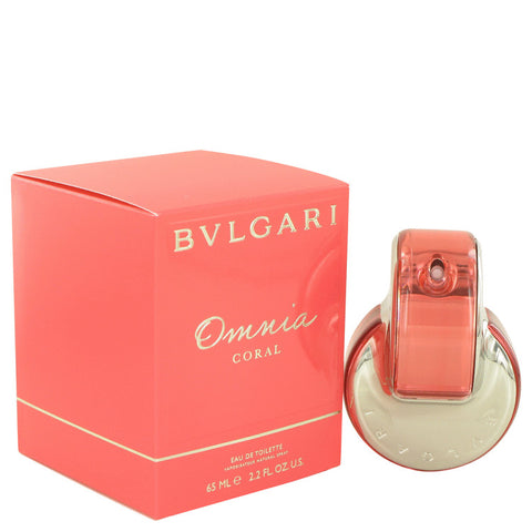 Omnia Coral Perfume by Bvlgari Eau De Toilette Spray For Women