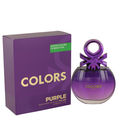 United Colors Of Benetton Purple Perfume by Benetton Eau De Toilette Spray For Women