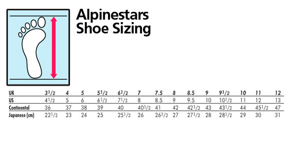 Correct sizing for motorcycle clothing charts from honda of mens boot sizing publicscrutiny Gallery