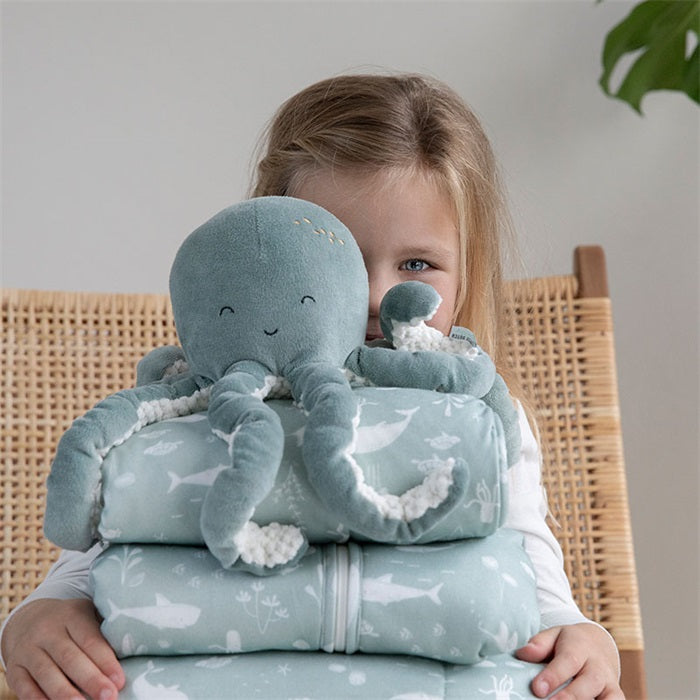Peluche pieuvre Menthe - Little dutch