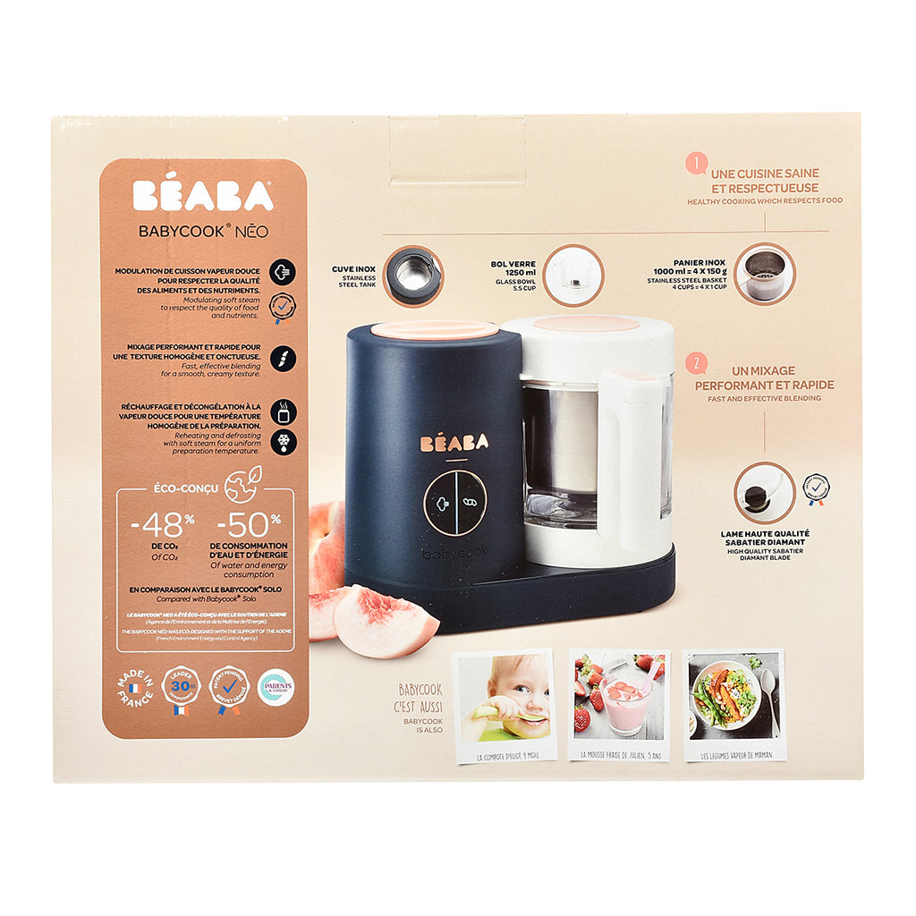 Babycook Neo Night Blue robot cuiseur - Beaba