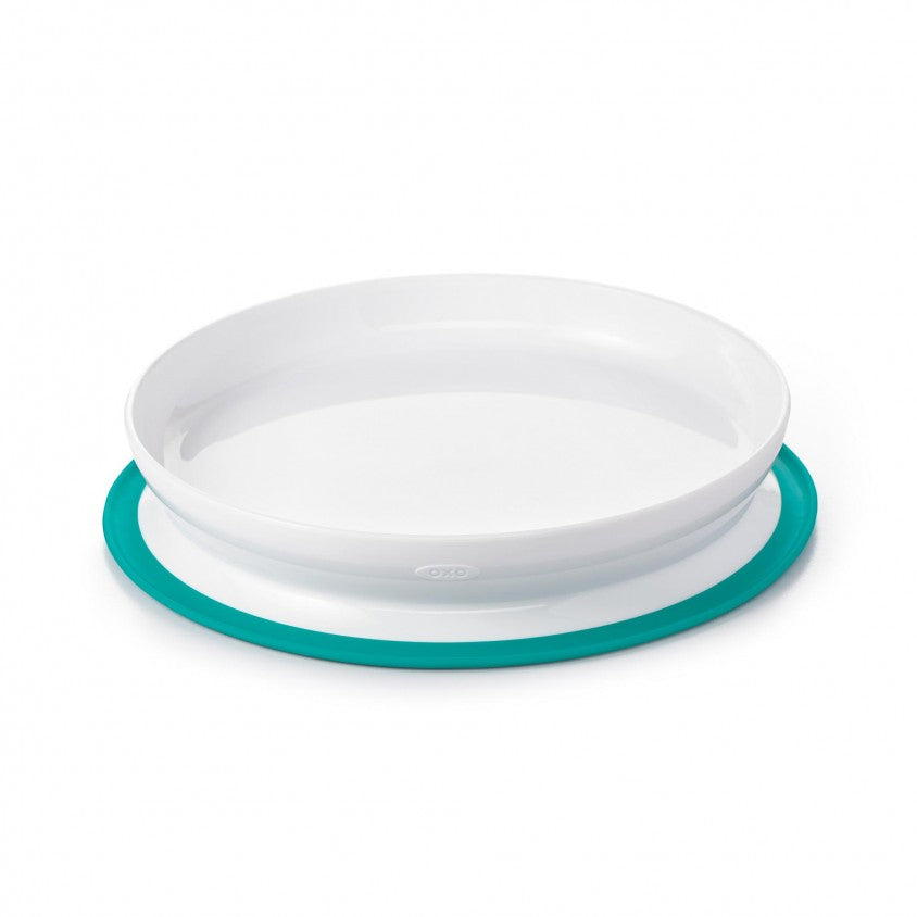 Assiette Stick & Stay Teal - OXO TOT