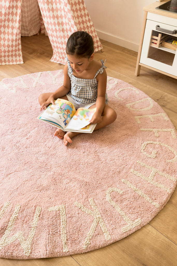 Tapis lavable - ABC - Nude