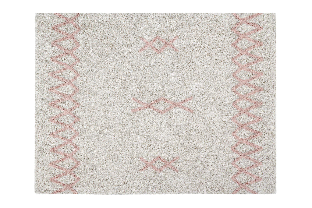 Tapis lavable Atlas Natural Vintage Nude - Lorena Canals