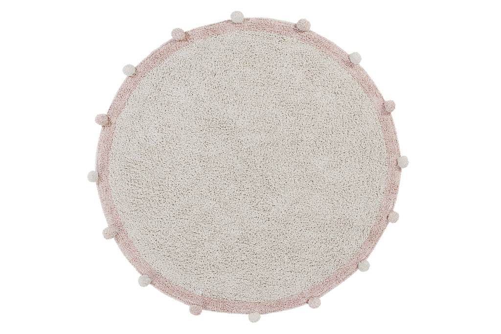 Tapis lavable Bubbly Vintage nude - Lorena Canals