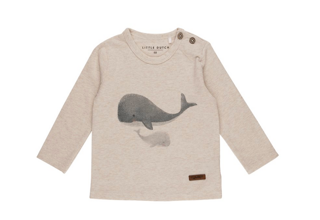 T-shirt manches longues baleine - Little Dutch