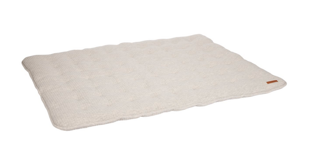 Tapis de parc 80 x 100cm Pure Grey - Little dutch
