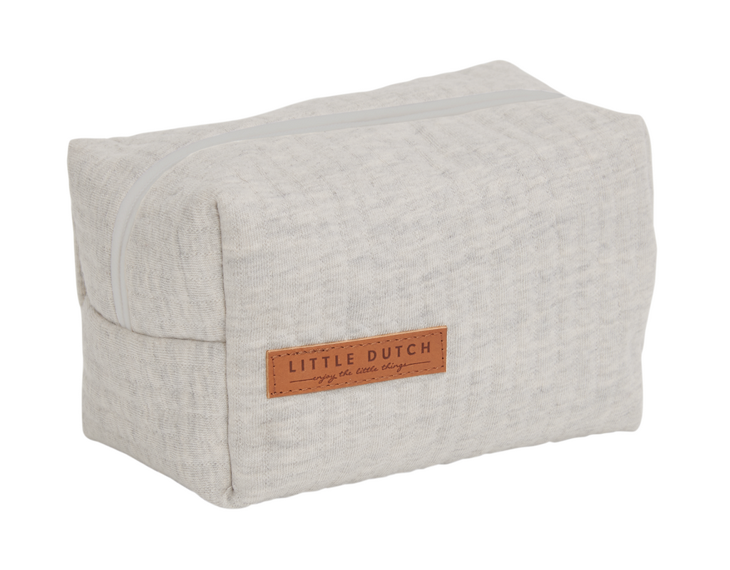 Trousse de toilette Pure Grey - Little dutch
