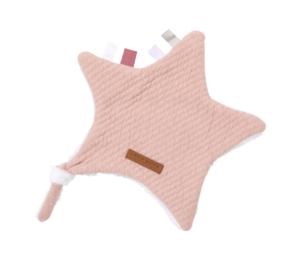 Doudou étoile Pure Pink - Little dutch