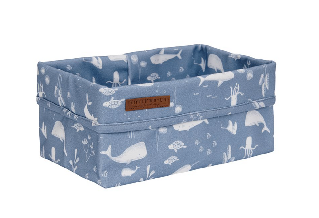 Grand panier de rangement Ocean Blue - Little dutch