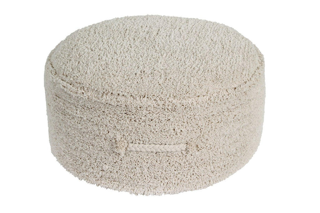 Pouf Chill lavable Natural - Lorena Canals